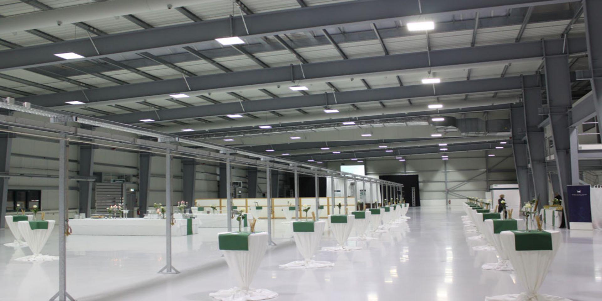 LED Industrie | Hallenbeleuchtung