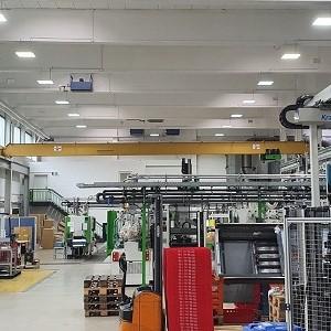 Effiziente LED-Beleuchtung für Industriehallen