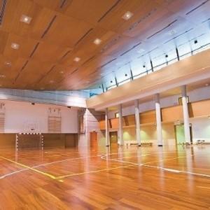 LED Beleuchtung für Sport- und Freizeithallen